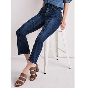 Lucky Brand Bridgette Cropped Flare Jean's 4/27